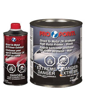Pro Form Direct to Metal 2K Urethane High Build Primer 4.7L Kit