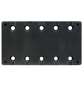 RUPES 115 x 210mm Rubber Work Pad 983.002