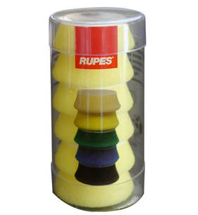 RUPES BigFoot 34/40mm Polishing Foams Fine Pack of 6