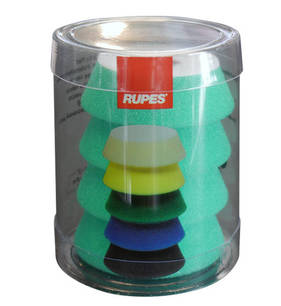 RUPES BigFoot 54/70mm Polishing Foams Medium Pack of 4