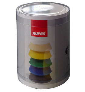 RUPES BigFoot 54/70mm Polishing Foams Fine Pack of 4