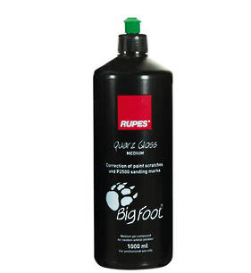 RUPES Big Foot Gel Compound Quarz Gloss Medium 1 Litre