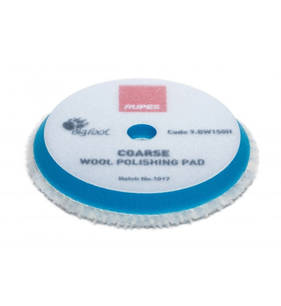 RUPES Big Foot Wool Polishing Pads Blue 9.BW150H