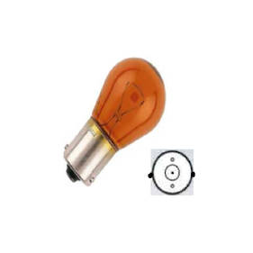 Carklips 12V Amber Single Filament Bulb