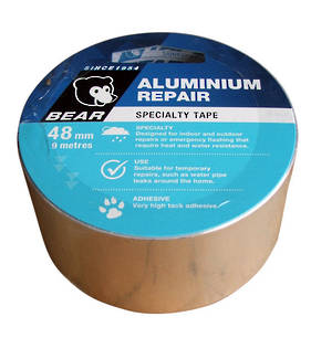 Bear Aluminium Repair Tape 9m Roll