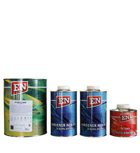 EN 2K Acrylic Paint Kit Black