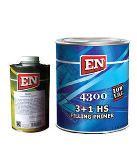 EN Chemicals 4300 2K HS Filling Primer 3:1 4 Litre Kit