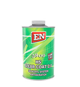 EN Chemicals 5800 2:1 HS Anti-Scratch Acrylic Clearcoat 1 Litre