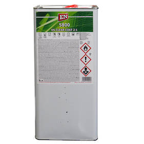 EN Chemicals 5800 2:1 HS Anti-Scratch Acrylic Clearcoat 5 Litre