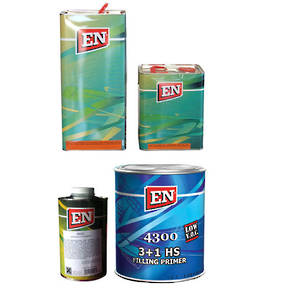 EN Chemicals 7.5L Acrylic Clearcoat 2:1 Kit and 4L HS Filling Primer 3:1 Kits