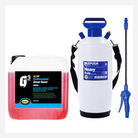 Heavy Duty Tec 10 Foamer and Snow Foam 3.78L Commercial Kit