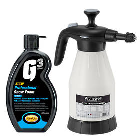Hand Pump Foamer and Snow Foam 500ml Cleaning Kit