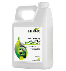 Eco Touch Waterless Car Wash Concentrate 3.78L