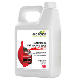 Eco Touch Waterless Car Wash and Wax Concentrate 3.78L