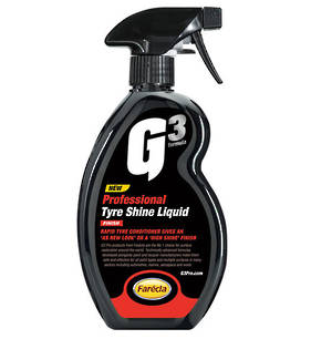 Farecla G3 Professional Tyre Shine Liquid 500ml