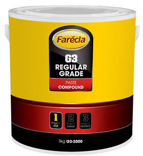 Farecla G3 Regular Grade Paste Compound 3Kg