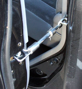 J & M Door Boot / Bonnet Stay Set