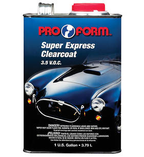 Pro Form 4:1 Super Express Clearcoat 3.5 V.O.C 3.79L