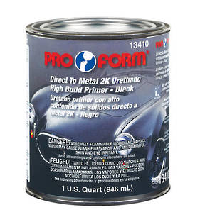 Pro Form Direct to Metal 2K Urethane High Build Primer 946ml