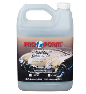 Pro Form Waterborne Final Wipe 3.78L