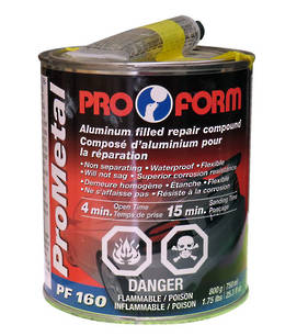 Pro Form Pro Metal Aluminium Filled Repair Compound 750ml