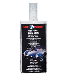 Pro Form Rigid Plastic Epoxy Repair Kit 200ml