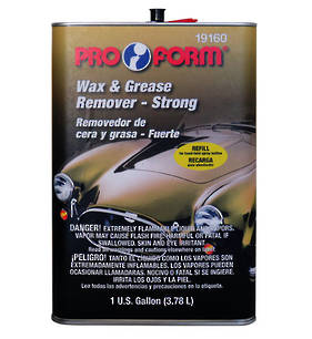 Pro Form Wax and Grease Remover Strong Refill 3.78L