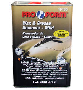 Pro Form Wax and Grease Remover Mild 3.79L