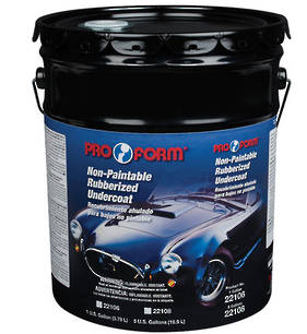 Pro Form Non Paintable Rubberized Undercoat 18.9L