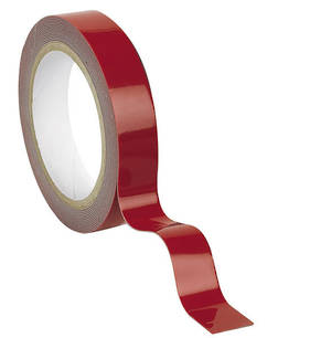 Pro Form Double Sided Acrylic Foam Tape Clear 22mm x 4.5m