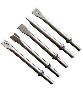 Assorted Air Hammer Chisels Pack of 5