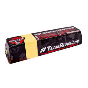 Renegade Clay Bar Yellow Stainless Line Compound