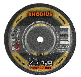 Rhodius XT10 Topline 100mm x 1.0 x 16 Cut off Wheel