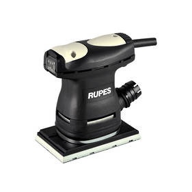 RUPES 80x130mm Electric Orbital Palm Sander with Built-in Dust Bag