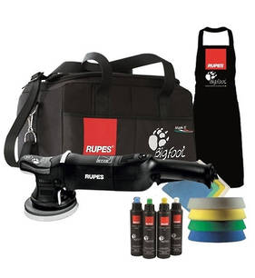 RUPES LHR15 Big Foot Mark II Electric Random Orbital Polisher Deluxe Kit