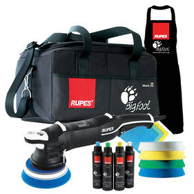 RUPES LHR15 BigFoot Mark III Electric Random Orbital Polisher Deluxe Kit