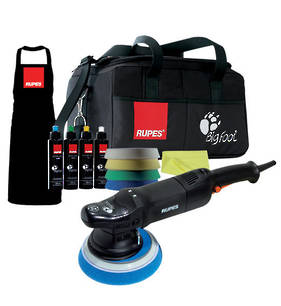 RUPES LHR21ES BigFoot Electric Random Orbital Polisher Deluxe Kit