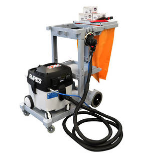 RUPES Smart Repair Electro-Pneumatic Dust Extraction Combo RUS130PL