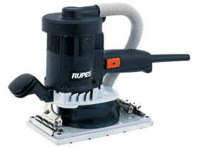 RUPES 115 x 210mm Electric Orbital Sander with Built-in Dust Bag
