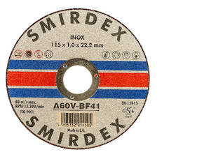 Smirdex 115mm Inox Cutting Wheel
