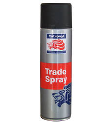 Tetrosyl Trade Spray Matt Black 500ml