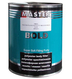 Troton Master Bold Polyester Putty 3L Box of 4