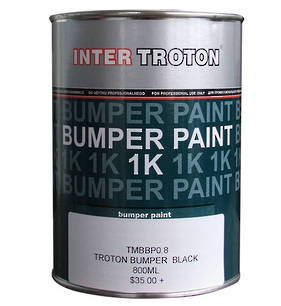 Inter Troton Bumper Paint Black 800ml
