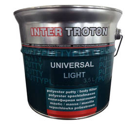 Troton Universal Light Polyester Putty 3.5 Litre