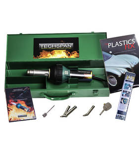 Techspan Rion Digital Premium Automotive Hot Air Plastic Welding Kit