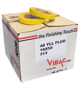 Vibac 313 Yellow Automotive Masking Tape 18mm