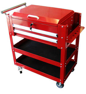 Tool Cart with Two Drawers