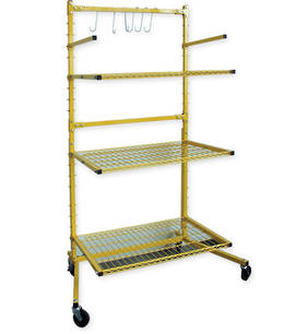 3 Shelf Parts Stand