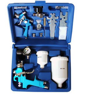 HVLP Air Gravity Feed Spray Gun Kit