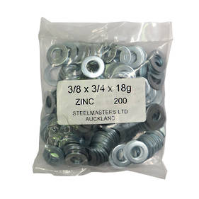 Spot Weld Steel Washers Pack of 200